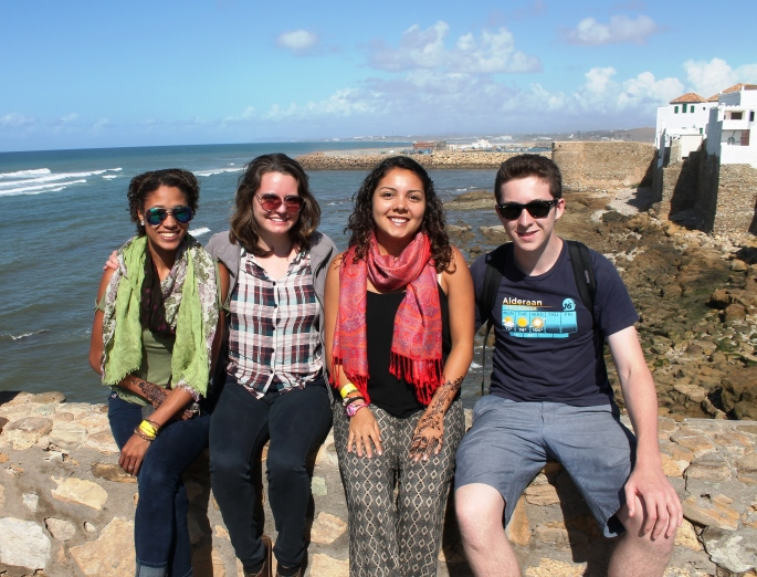 With my SOLmates in Morocco!