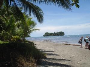 The Beach on Punta Mona